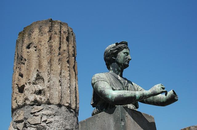 socha pompeje