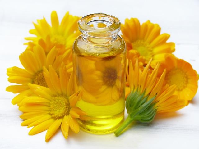 vonný masážní olej