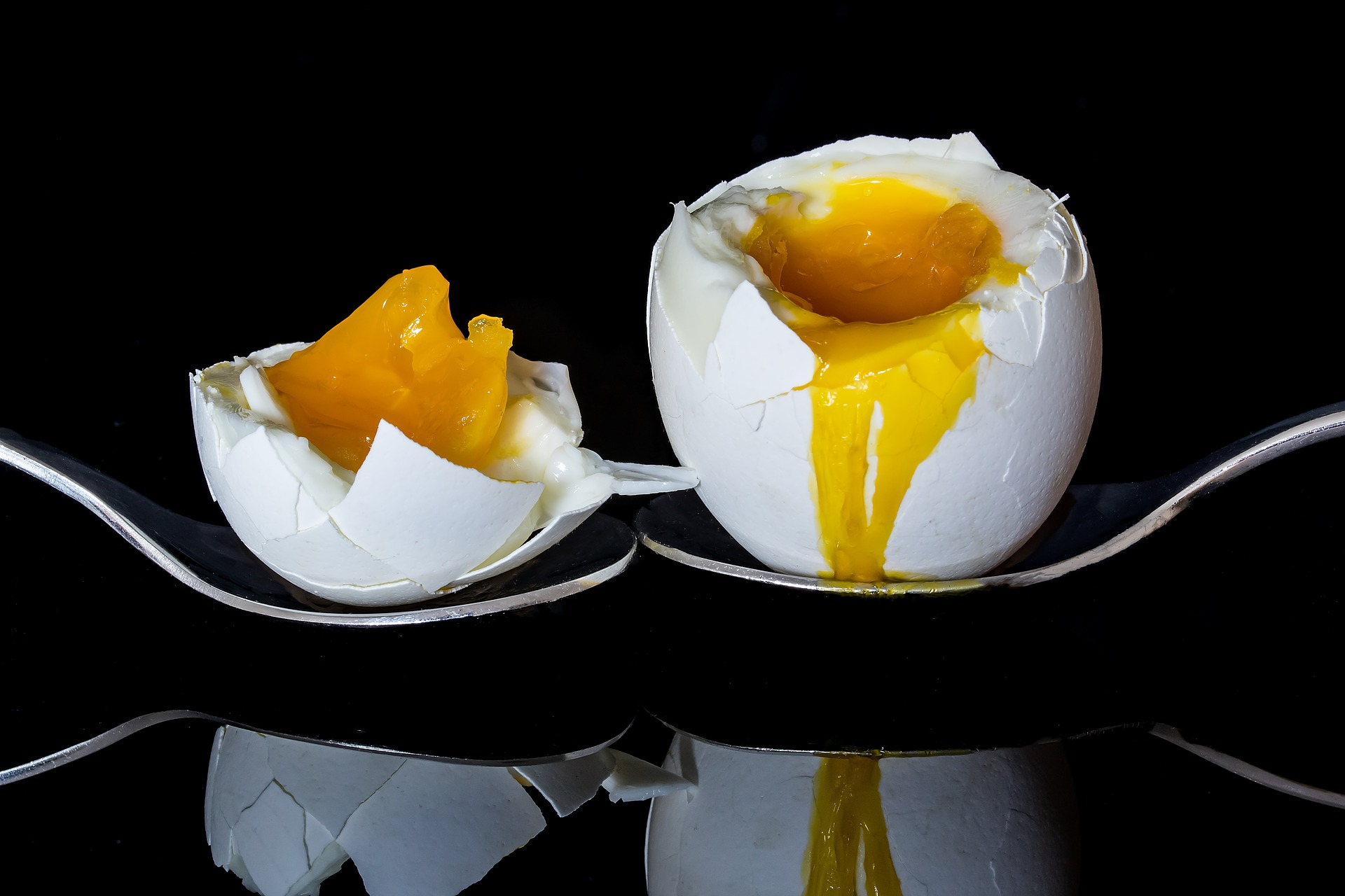 uvařené vejce